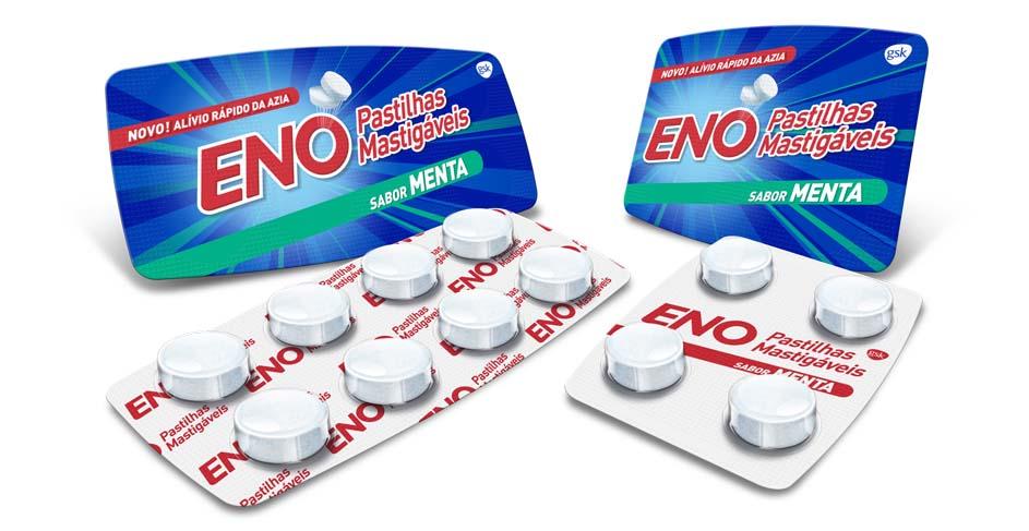 ENO lança versão pastilhas mastigáveis, sabor menta
